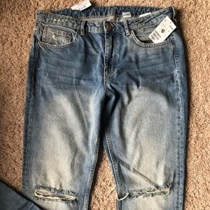 Distressed H&M Jeans
